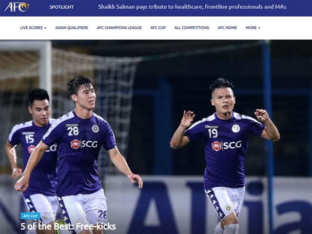 Quang Hải được an ủi sau khi hụt QBV: Siêu phẩm số 1 lịch sử AFC Cup