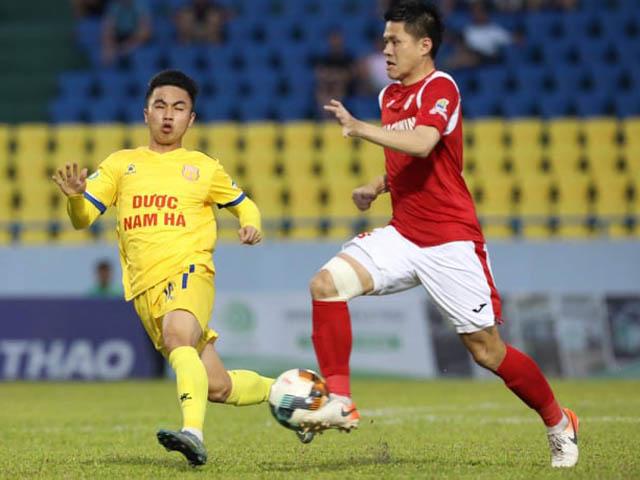 Trực tiếp bóng đá Quảng Ninh - Nam Định: Loạt luân lưu cân não (Hết giờ)