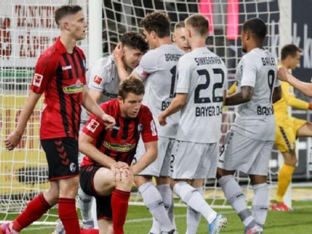 """Video highlight trận Freiburg - Leverkusen: """"Mục tiêu"""" của MU lập kỳ tích, công phá top 3"""