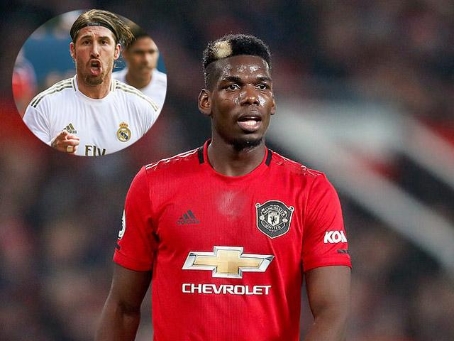 """Pogba khó lòng sang Real Madrid, """"đại ca"""" Ramos cản đường vì đâu?"""