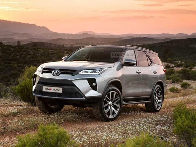 Toyota Fortuner 2021 sẽ ra mắt vào ngày 4/6 tại Thái Lan