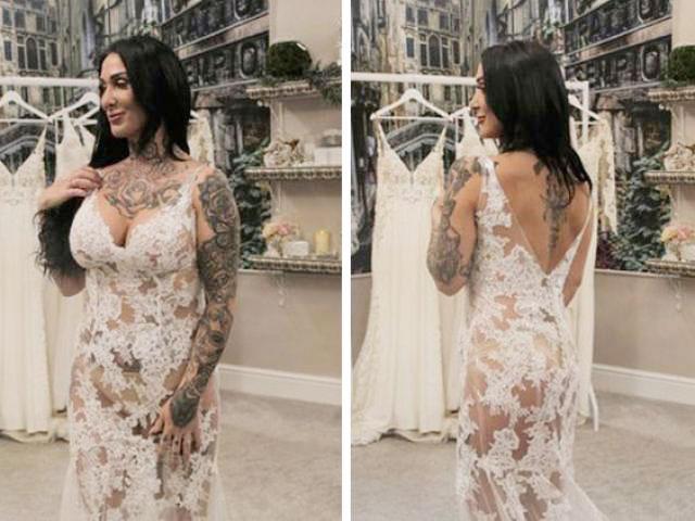 Chi 73 triệu mua váy cưới xuyên thấu, cô dâu khiến mẹ chồng hốt hoảng