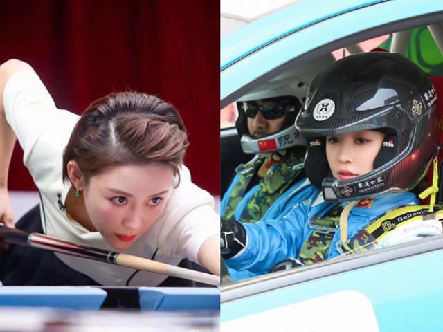 """Nữ hoàng bi-a đẹp số 1 Trung Quốc mê tốc độ, đua xe """"không có đối thủ"""""""