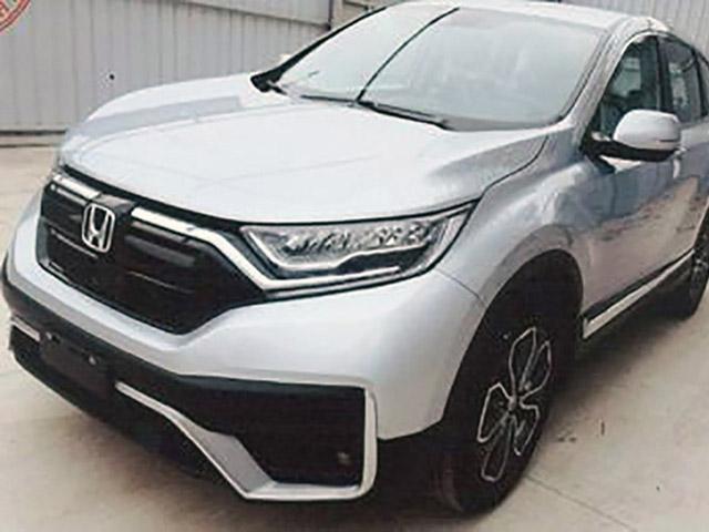Honda CR-V 2020 phiên bản lắp ráp tại Việt Nam lộ diện