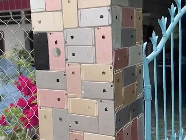 """Video: """"Nhà anh chẳng có gì, chỉ có chiếc cổng dát iPhone"""""""