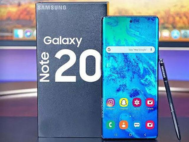 Màn hình Galaxy Note 20 và Galaxy S21 lộ nhiều thông tin bất ngờ