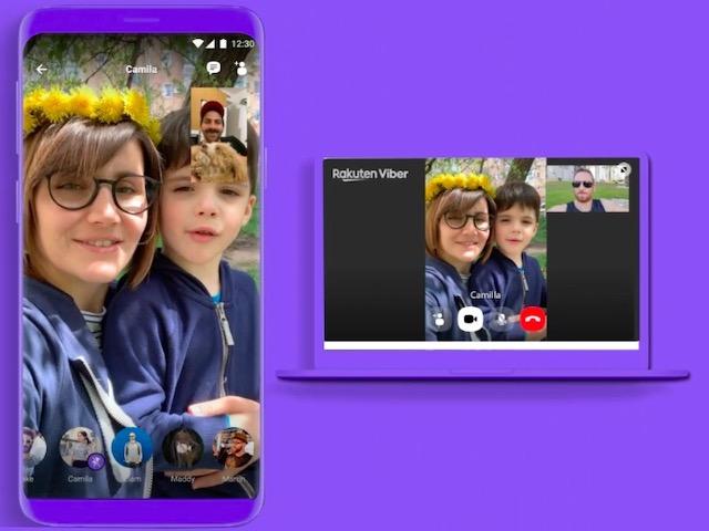 Gọi video call nhóm tối đa 20 người miễn phí bằng Viber