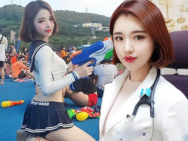 Nữ bác sĩ xứ Hàn xinh đẹp tập đa dạng môn để có dáng quyến rũ