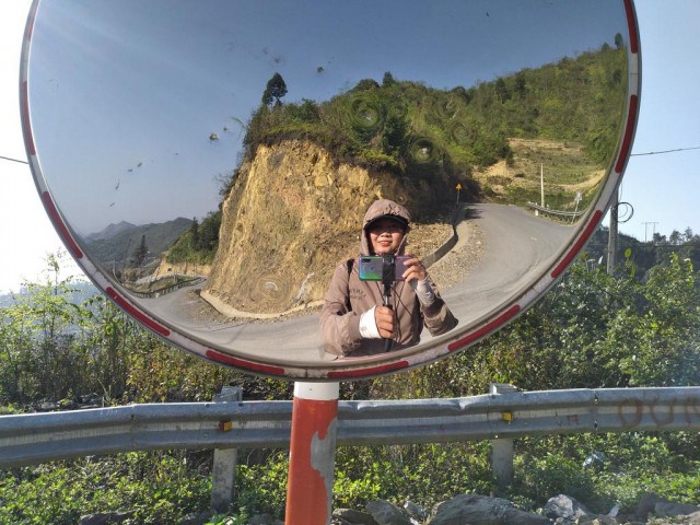 Cô gái Trà Vinh bỏ việc, đi bộ xuyên Việt: Muốn phá bỏ giới hạn của bản thân