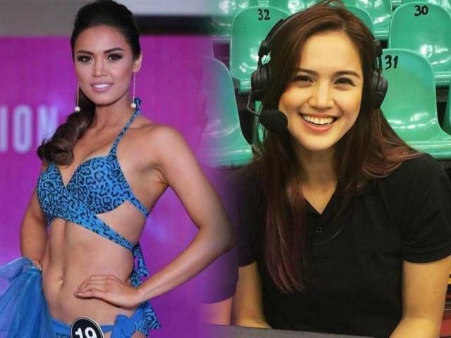 Nữ thần bóng chuyền Philippines thi hoa hậu giật luôn ngôi đầu