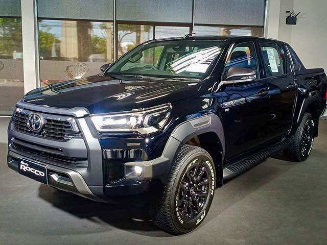 Ảnh thực tế các phiên bản của dòng xe Toyota Hilux tại Thái Lan
