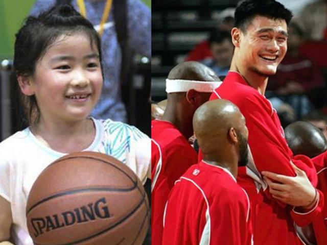 """Con gái """"người khổng lồ"""" Yao Ming: 9 tuổi cao 1m70 và bí mật đặc biệt"""