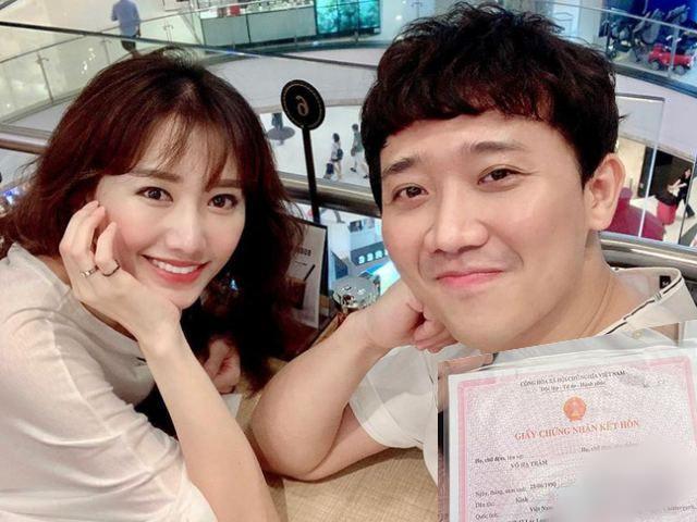 Hari Won - Trấn Thành cưới 4 năm mới đăng ký kết hôn khiến ai cũng ngỡ ngàng