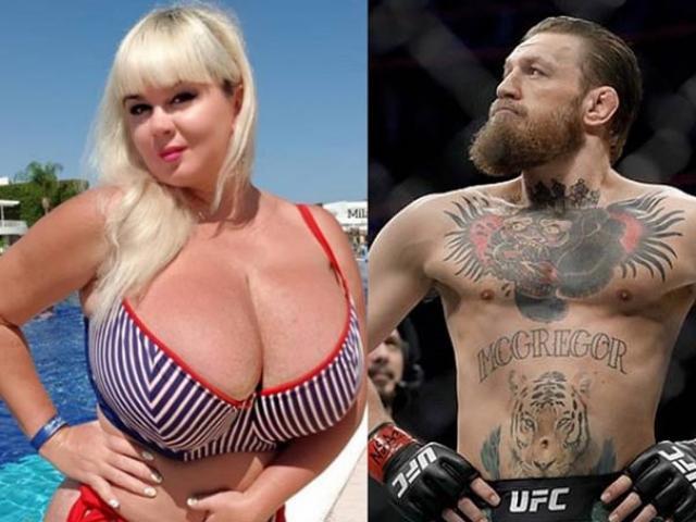 """Người mẫu """"vòng 1"""" đồ sộ đấu MMA, """"gã điên"""" McGregor làm VIP ở Thái Lan"""