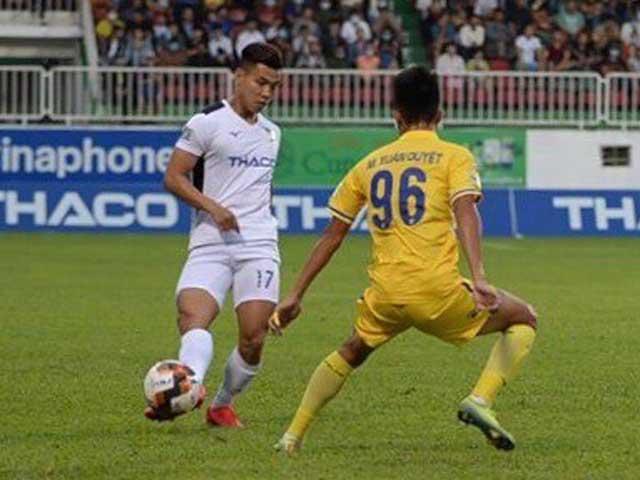 Trực tiếp bóng đá HAGL - Nam Định: Đôi công rực lửa, tốc độ mãn nhãn