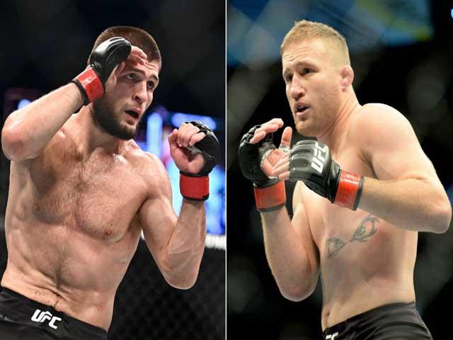 """Đại chiến UFC: """"Gã nổi loạn"""" Gaethje thách thức ngai vàng Khabib khi nào?"""