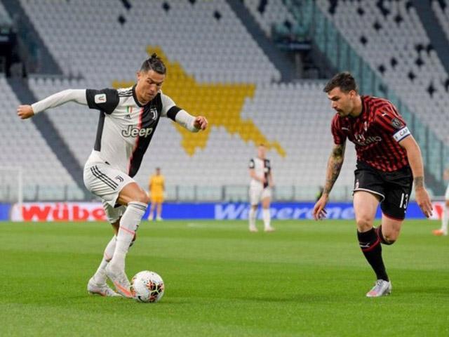 Video highlight trận Juventus - AC Milan: Ronaldo đá hỏng 11m, thẻ đỏ bất ngờ
