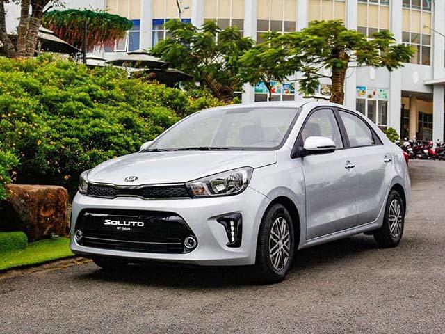 Giá lăn bánh xe Kia Soluto mới nhất tháng 6/2020