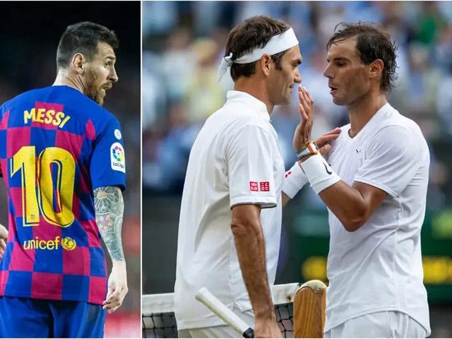 """Federer vượt Nadal top 3 VĐV hay nhất thế kỷ 21, Messi & Ronaldo """"hít khói"""""""