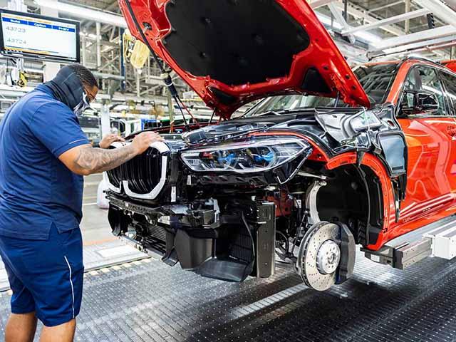 BMW sản xuất chiếc xe thứ 5 triệu xe tại Bắc Mỹ