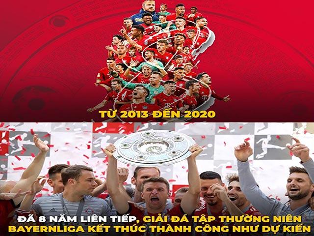 """Ảnh chế: Bayern Munich chính thức vô địch """"giải đấu tập BayernLiga"""""""