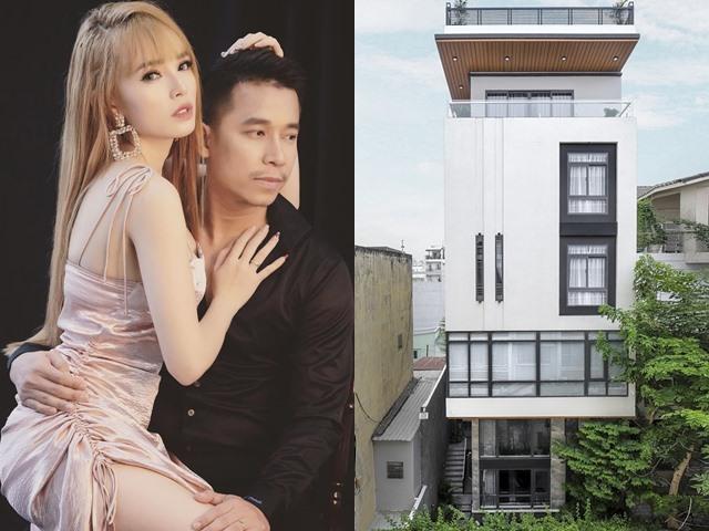 Lê Hoàng (The Men) và vợ nóng bỏng kiếm tiền cách nào để xây nhà 6 tầng, rộng 1.000 m2?