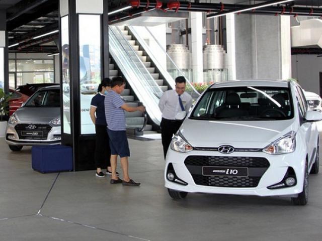 Chính thức trình Chính phủ dự án Nghị định giảm 50% lệ phí trước bạ ô tô