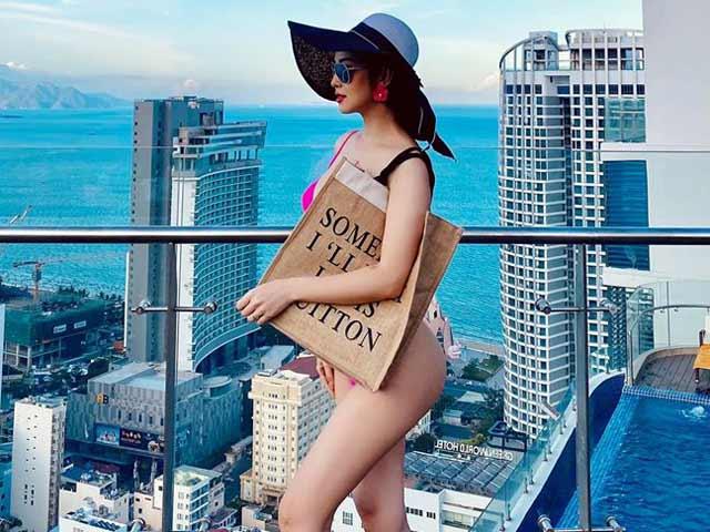 """Jennifer Pham bất ngờ khoe đường cong """"thần Vệ Nữ"""" với bikini"""