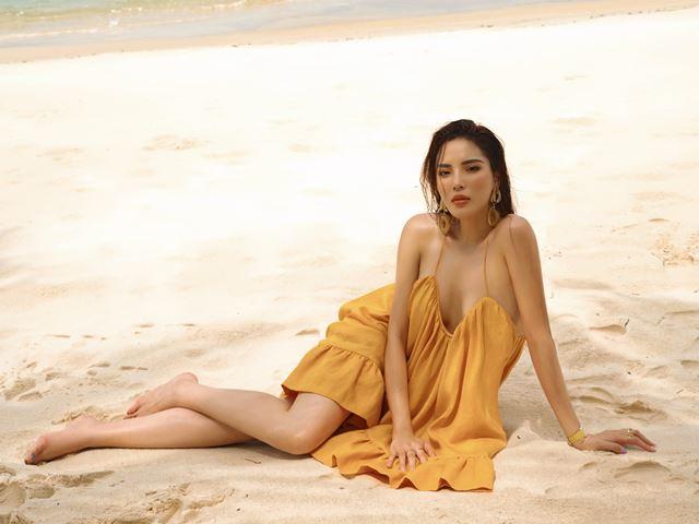 """Kỳ Duyên kết hợp Lê Thanh Hòa trong bộ ảnh """"thiêu đốt"""" mùa hè"""