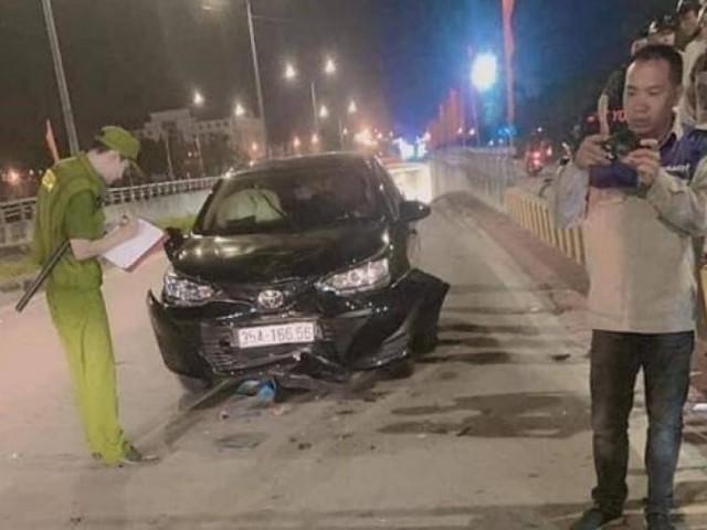 Nghi vấn cán bộ Trung tâm sát hạch lái xe Ninh Bình say rượu gây tai nạn