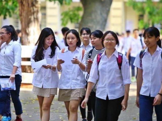 Hà Nội công bố số lượng học sinh đăng ký vào lớp 10 THPT công lập
