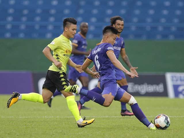 Trực tiếp bóng đá Bình Dương - Hà Nội: Văn Quyết câu penalty, Rimario mở điểm