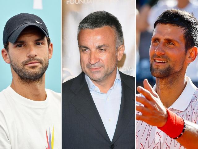 """Tranh cãi về Djokovic vì """"thảm họa"""" Covid-19, ông Srdjan kết tội Dimitrov"""