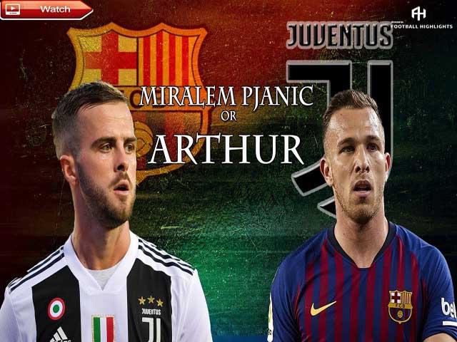 """""""Bom tấn"""" 1.974 tỷ đồng: Barca - Juventus đàm phán, Arthur làm đệ Ronaldo"""