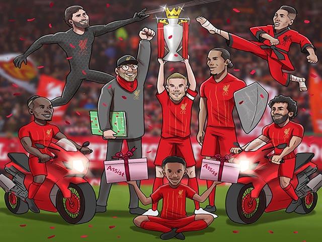 """Ảnh chế: Liverpool chính thức vô địch ngoại hạng Anh khiến fan MU """"cay đắng"""""""