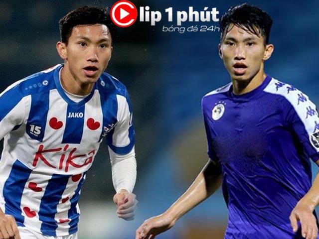 Sắp chốt Văn Hậu ở lại Hà Lan hay về Việt Nam đá V-League? (Clip 1 phút Bóng đá 24H)