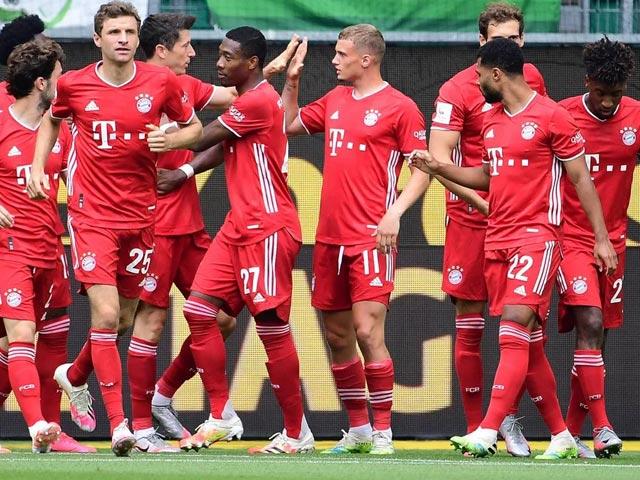 """Video highlight trận Wolfsburg - Bayern Munich: Đại tiệc bàn thắng mừng """"nhà vua"""""""