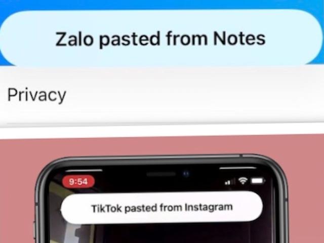 Zalo, TikTok và nhiều ứng dụng đang đọc những gì mà bạn chỉ mới copy