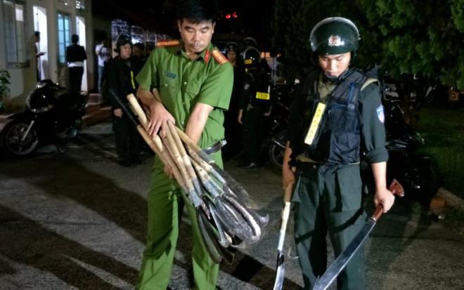 9 người bị bắt, 3 người bị thương trong vụ hỗn chiến náo loạn đường phố Buôn Ma Thuột