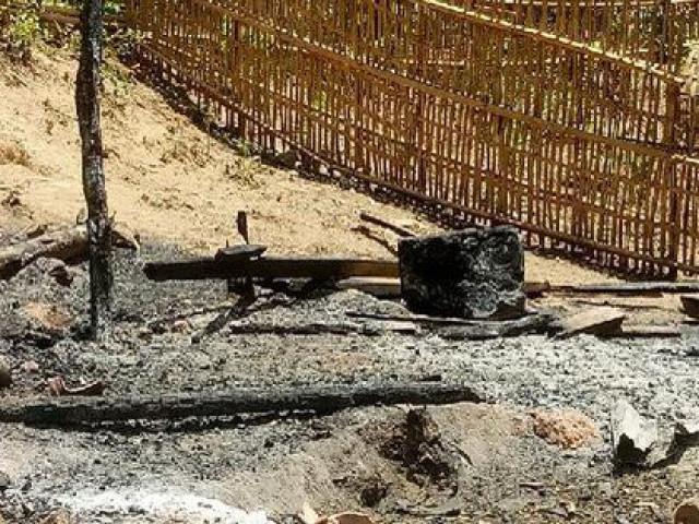 Châm lửa hút thuốc cạnh can xăng, vợ bị lửa thiêu tử vong, chồng bỏng nặng