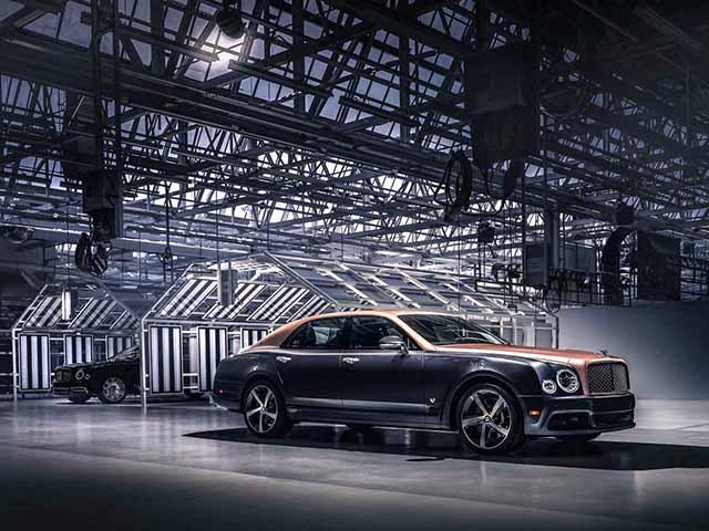 Bentley tung phiên bản cuối cùng cho dòng xe Mulsanne