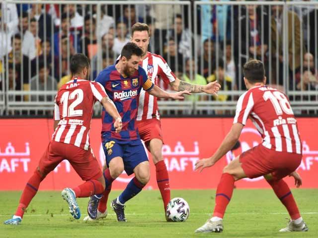 Nhận định bóng đá Barcelona - Atletico Madrid: Messi đang rối bời, Real chờ tin vui