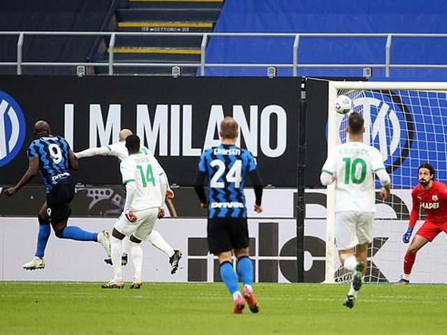 Video Inter Milan - Sassuolo: Công lớn Lukaku, chễm chệ trên đỉnh bảng