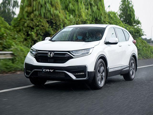 Giá xe Honda CR-V lăn bánh tháng 4/2021