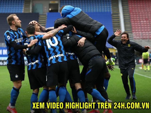"""Inter Milan """"đại chiến"""" Napoli, AC Milan và Juventus bám đuổi vòng 31 Serie A"""