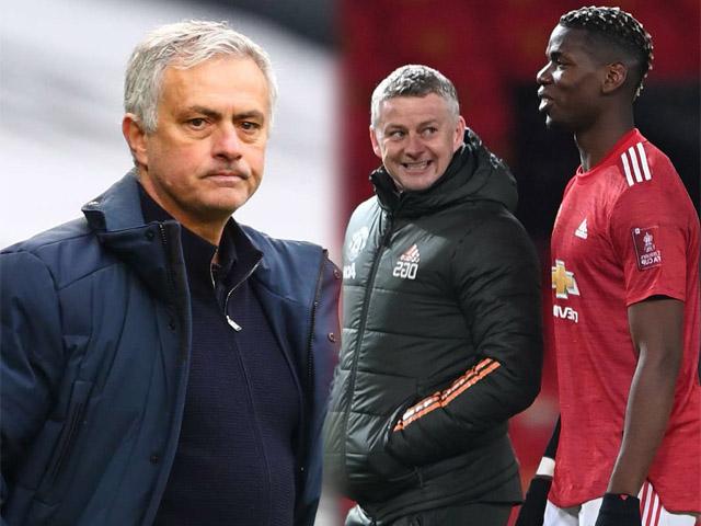 "Mourinho bị Pogba chê ""ngoại giao"" kém Solskjaer, phản pháo cực gắt"