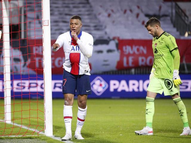 "Video Brest - PSG: Neymar hóa ""tội đồ"", Mbappe tỏa sáng xoa dịu ngày buồn"