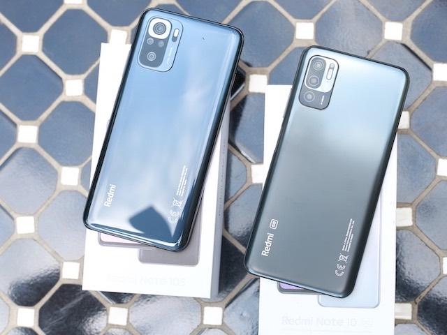 Xiaomi giới thiệu bộ đôi smartphone giá rẻ Redmi Note 10 5G và Note 10S