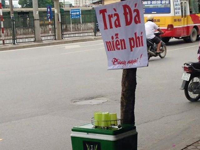 Chủ tịch quận Hoàng Mai lên tiếng vụ thu bình trà đá miễn phí