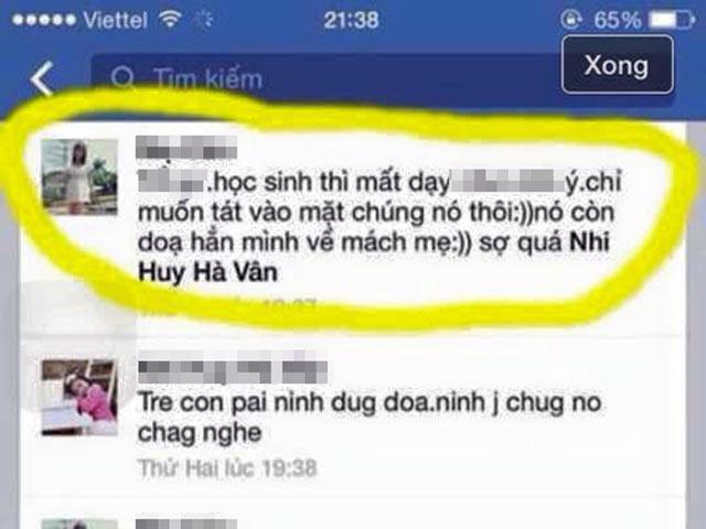 """Hà Nội: Cô giáo mất việc vì chửi học sinh """"mất dạy"""""""